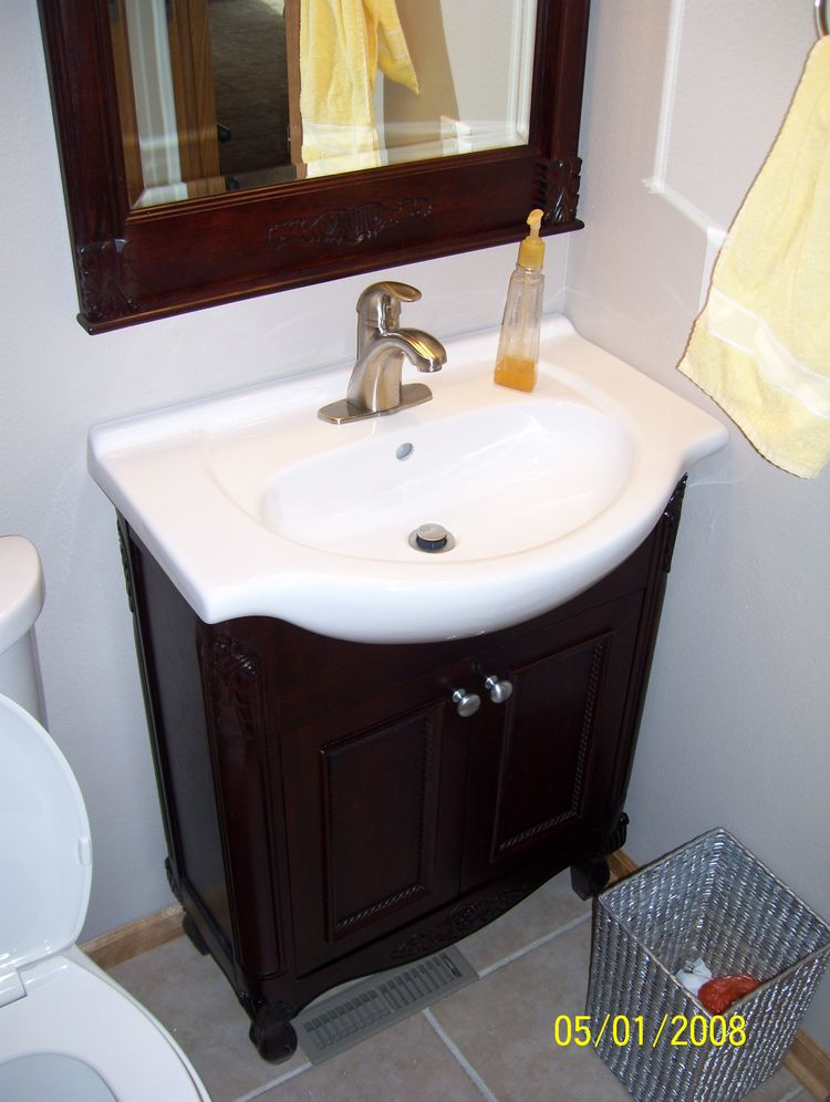 Entire house remodel for Half bath remodel ideas