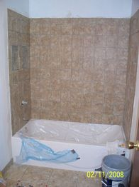 In this master bathroom remodel customers wanted to have for Mobile home master bathroom remodel